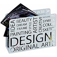 HAKU Möbel 44395 Zeitungsständer 35 x 10 x 26 cm, weiß