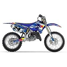 YAMAHA YZ 125 250 2006-2012 AZUL BULL MX MOTOCROSS KIT DE DECAL