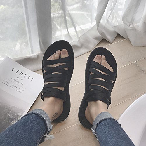 Sandales hommes chanvre indoor beach shoes chaussons pied traînant ensemble amoureux