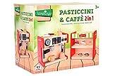 Globo - Macchina del caffè con banco Dolci 2 in 1 con 13 Acc. (38909), Multicolore (1)