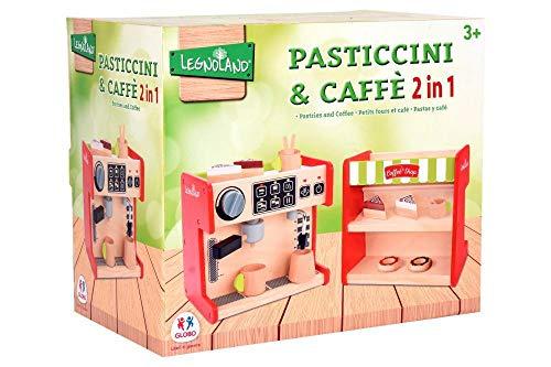 GLOBO 1, Macchina del Caffe' con Banco Dolci 2 In 13 Acc. (38909), Multicolor