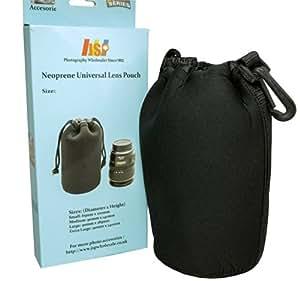 JSP Protective Neoprene Lens Sleeve / Lens Pouch for Large DSLR Lens