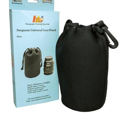 JSP Protective Neoprene Lens Sleeve / Lens Pouch for Medium DSLR Lens (Lens Sleeve)