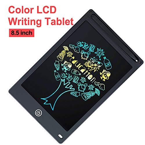 LONG-B 8,5 inch LCD Schreibtafel Tablet für Zeichnung Digital Löschbaren Zeichnung Tablet/Pad/Board Für Kinder Elektronische Grafiken Tablet LCD/Bildschirm Mit Stift Batterie,Schwarz