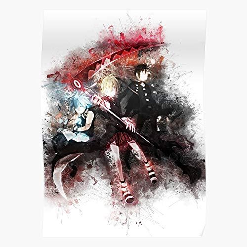 Cartoon Film Soul Cloud Meistverkaufte Wandkunst Wohnkultur Showtime Geschenk Poster