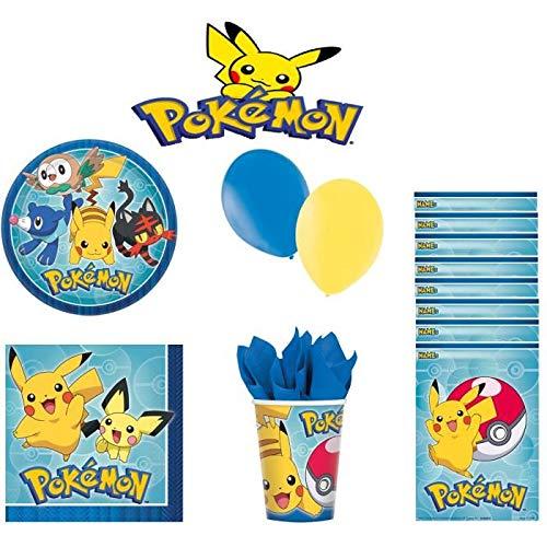 Pokemon Kit Anniversaire 16 Personnes