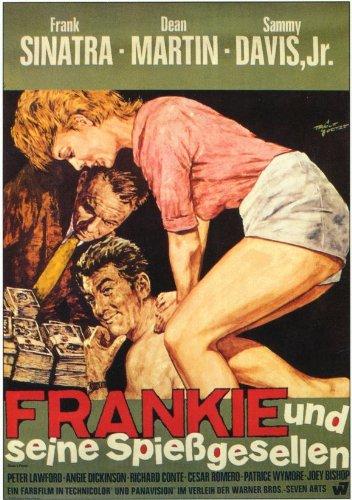Oceans 11 Plakat Movie Poster (11 x 17 Inches - 28cm x 44cm) (1960) German - Davis Movie Poster