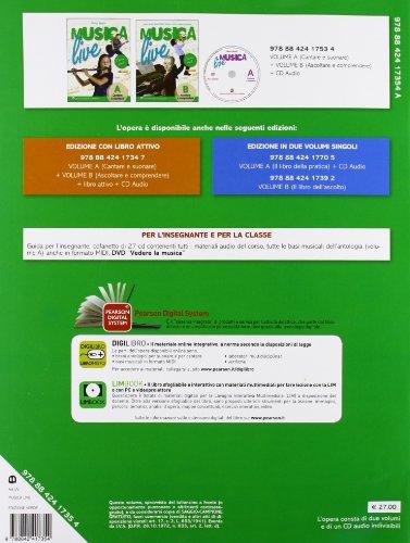Musica live. Vol. A-B. Ediz. verde. Per la Scuola media. Con CD Audio. Con espansione online