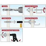 TOX Montagezange Acrobat Speed Plus für Metall-Hohlraumdübel, 1 Stück, 03590094