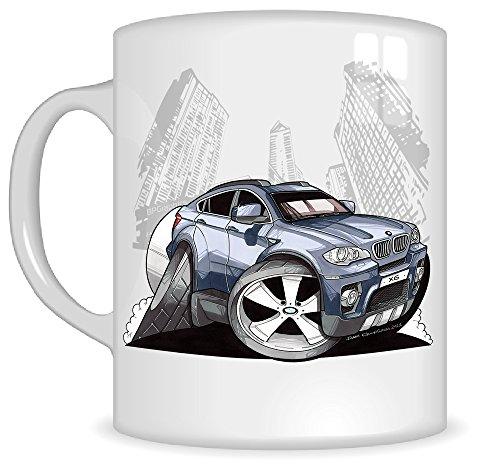 koolart-gifts-k3044-mg-cartoon-of-bmw-x6-caricature-blue-bmw-mug-gift-for-men-mugs