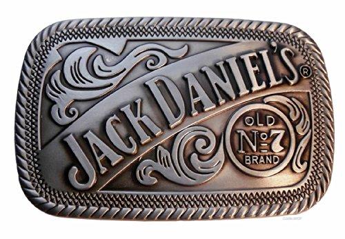 Main Street 24/7 Jack Daniels Classic Old No. 7Brand Zinn Gürtelschnalle