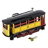 Sharplace Mini Wind-up Straßenbahn Trolley Blechspielzeug Sammlerstück Spielzeug - 17,5 x 5,5 x 6,5 cm