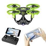 SIAMNUI Mini Drone pour Enfants, 2.4 G Avion à télécommande 6 Axes, caméra 720P...