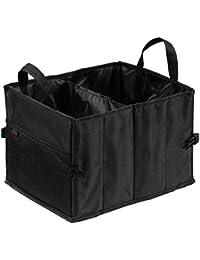 Hama Auto-Kofferraumtasche mit Klettbefestigung (faltbar, klein (37 x 29 x 25 cm)) schwarz