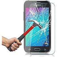 OhMyGosh® - Samsung Galaxy J3 (2016) Explosion Shock Proof Genuine Tempered Glass Film Screen Protector (OMG01)