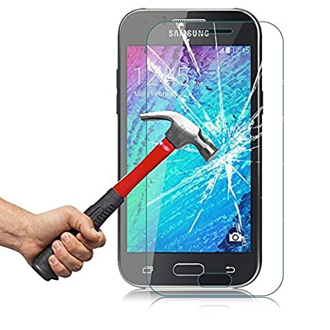 OhMyGosh - Samsung Galaxy J3 (2016) Explosion Shock Proof Genuine Tempered Glass Film Screen Protector (OMG05) by OhMyGosh?
