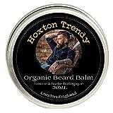 Premium BIO Baume à barbe par Hoxton tendance fabriqué en Angleterre Après-shampoing sans rinçage Contrôle les...