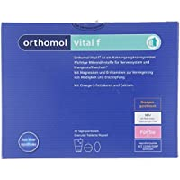 Orthomol vital f 30er Granulat, Tablette & Kapseln, Orange - Vitamin Komplex für Frauen bei Müdigkeit & Erschöpfung preisvergleich bei billige-tabletten.eu