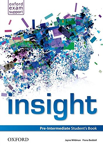 Insight Pre-Intermediate. Student's Book