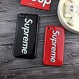 Supreme 6 Plus (Größe: 5,5 Zoll) Handy Cover Schutzhülle Handyhülle Jordan Michael Jordan Chicago Bulls (schwarz)
