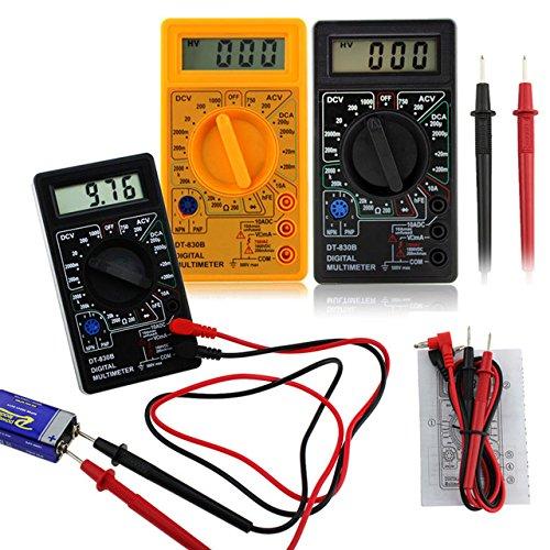 DT-830B Digitales Multimeter, elektrisches Voltmeter, Amperemeter, Ohm Tester