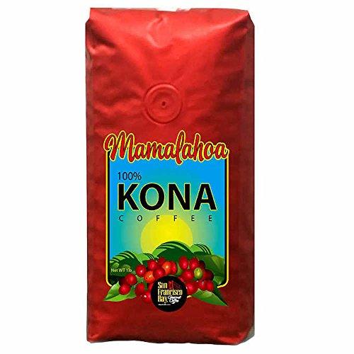 San Francisco Bay Mamalahoa 100% Hawaiian Kona Bohnenkaffee, 454 g -