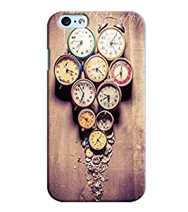 Blue Throat Watches Pattern Printed Designer Back Cover For Apple iPhone 6s Plus