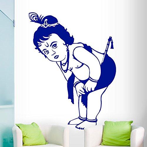 DeStudio Krishna Flip Chalkboard Wall Decal, Size MEDIUM & Color : BLUE
