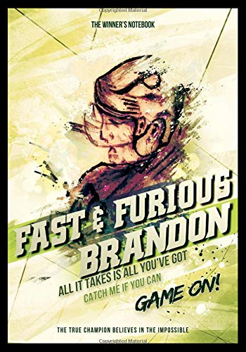 Fast & Furious Brandon:  All It Takes Is All You've Got: The Winner's Notebook (Inspirational Hockey) por Lemieux Gretzky