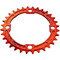 Race Face Single Narrow Wide - Transmisión para bicicletas, Naranja, dimensiones 104 x 30 mm