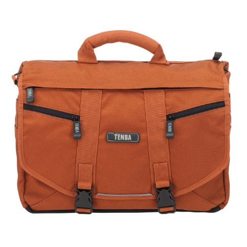 Tenba 638-224 Messenger Photo/Laptop Tasche für SLR Kamera Größe S Burnt orange Nylon Slr-kamera