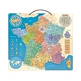 Vilac- Carte de France éducative, 2589, Multicolore