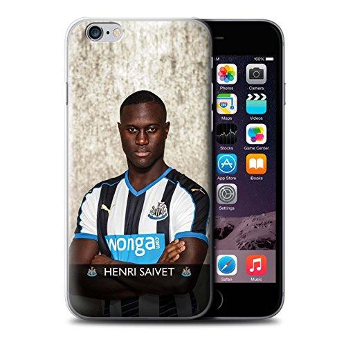 Offiziell Newcastle United FC Hülle / Case für Apple iPhone 6S / Pack 25pcs Muster / NUFC Fussballspieler 15/16 Kollektion Saivet