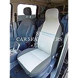 A un Ford Focus, fundas para asiento, brillo de tela, 2frentes