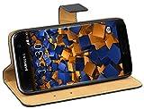mumbi Ledertasche im Bookstyle für Samsung Galaxy S7 Tasche
