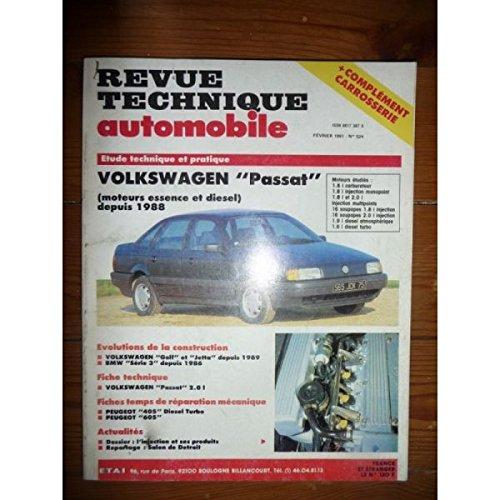 RTA0524 - REVUE TECHNIQUE AUTOMOBILE VOLKSWAGEN VW PASSAT Essence et Diesel depuis 1988