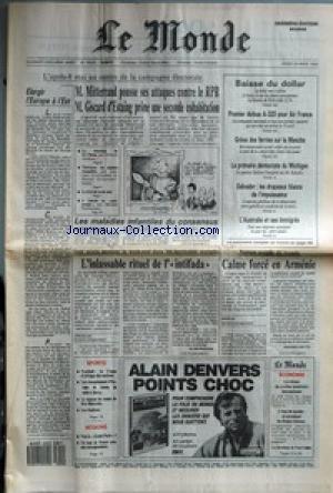 MONDE (LE) [No 13425] du 29/03/1988 - ELARGIR L&#3...