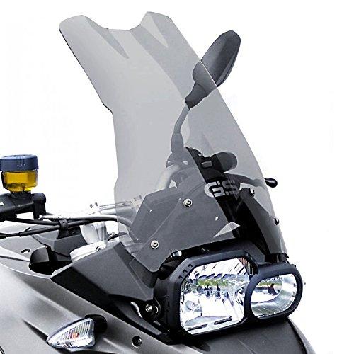 Tourtecs Pare-Brise pour BMW F650/ 700/800 GS 08-17 fumé Clair