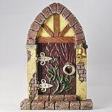 Fairy Door Wooden Arched Stonework by Fiesta Studios