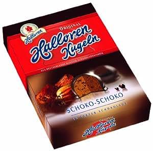 Halloren Original Halloren Kugeln Schoko-Schoko, 4er Pack (4 x 125 g)