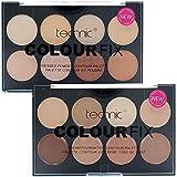 Technic Duo Colour Fix Set - 8 Colour Foundation Palette & 8 Colour Contour Kit by Technic