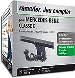 Attelage Amovible pour MERCEDES-BENZ CLASSE C + faisceau 7 broches...