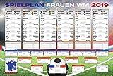 Close Up Fußball WM Frauen - Spielplan 2019 in Frankreich