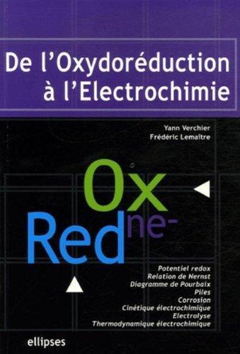 De l'oxydoréduction à l'électrochimie