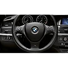 OEM SYSTEMS COMPANY 45mm steering wheel sticker Logo Badge Pegatina, Azul y Blanco, 45 mm