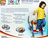 LOZ Toilet Ladder Chair Toilet Trainer Potty Toilet Seat Step Up Toddler Toilet Training Step Stool for Girls and Boys LOZ5356 (Toilet Ladder Seat 5356)