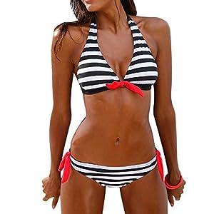 Donne Costume da Bagno Bikini Push up Set Sexy Mare Flessione Imbottiti sulle Braccia Reggiseno Floreale Sportivo Arena Costumi bagnarsi Triangolo Benda Swimwear Beachwear SANFASHION