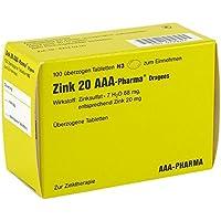 Zink 20 Aaa Pharma Dragees 100 stk preisvergleich bei billige-tabletten.eu