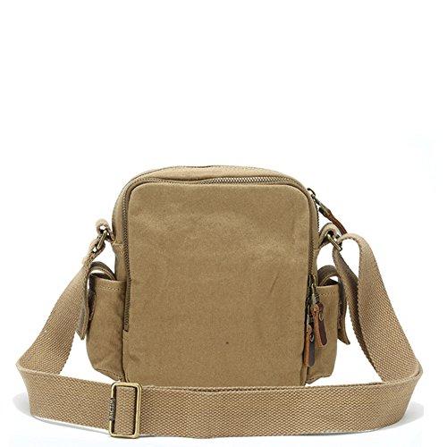 Canvas-Taschen/Umhängetasche/Incline Umhängetasche/Outdoor Freizeit Tasche Sporttasche-B A