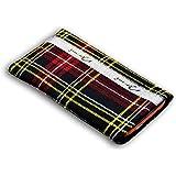 Norrun Griseldis Handytasche aus Textil-Stoff maßgeschneidert mit Mikrofasereinlage, Strahlenschutz ersetzt die Tasche von Hersteller / Modell Apple iPhone 6 S Plus